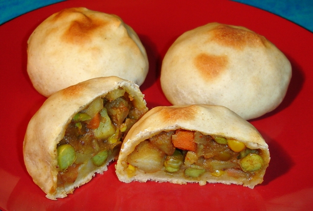 vegetable-buns